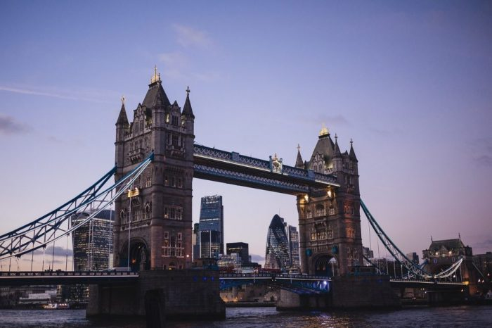 La bellezza incantata di Londra