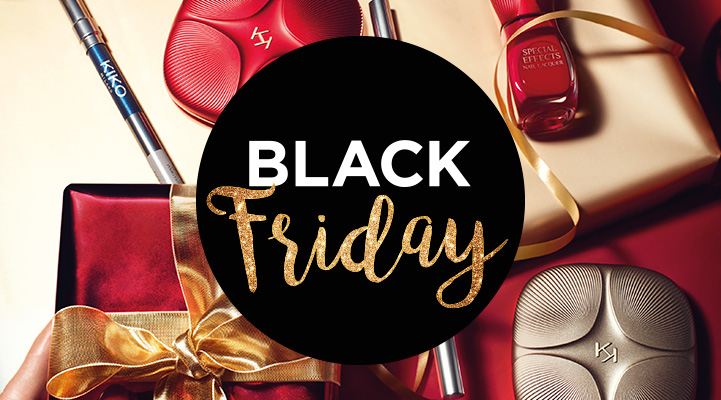 Black Friday Kiko: ogni 3 prodotti acquistati, 3 sono in regalo!