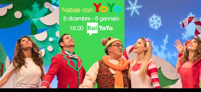 Il Natale dei più piccoli: la programmazione di Rai YoYo