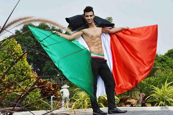 Vinicio Modolo Mister Italia International 3° classificato a MISTER INTERNATIONAL