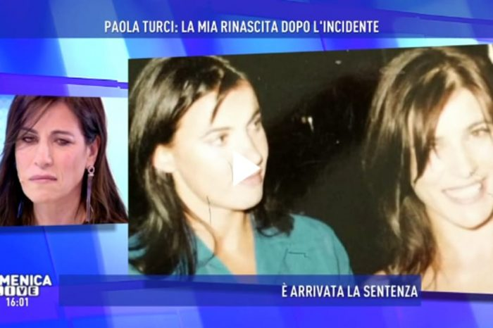 """Paola Turci racconta il suo incidente: """"Per due anni mi uscivano vetri dal viso"""""""