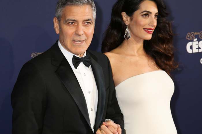 George Clooney: un papà ansioso