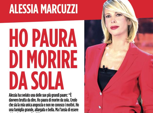 La paura più grande di Alessia Marcuzzi